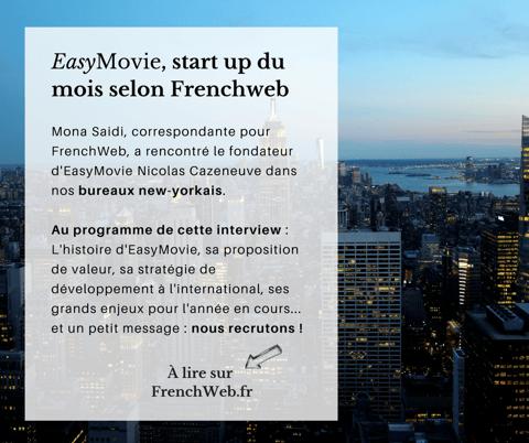 EasyMovie réalise des vidéos d'entreprises à New-York